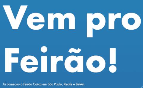 Calendário Feirão Caixa 2015